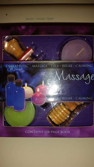 Relaxing therapeutic massage oils with candles. New for Sale in Largo, FL
