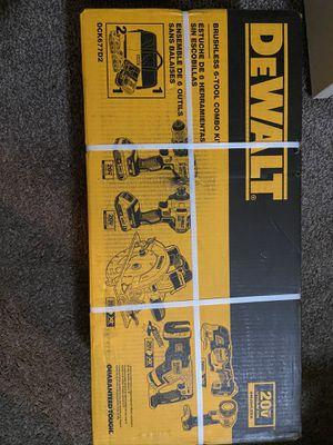 BRAND NEW 6 TOOL BRUSHLESS 20V POWER TOOL COMBO KIT for Sale in Westland, MI