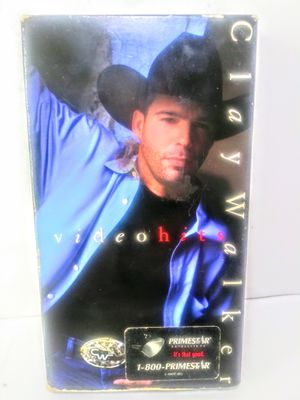 Clay Walker Music VHS for Sale in Garland, TX