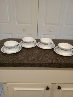VINTAGE CORELLE COFFE CUPS SET for Sale in Fort Myers, FL