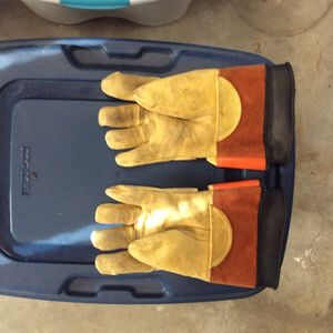 High voltage gloves. for Sale in Canvas, WV