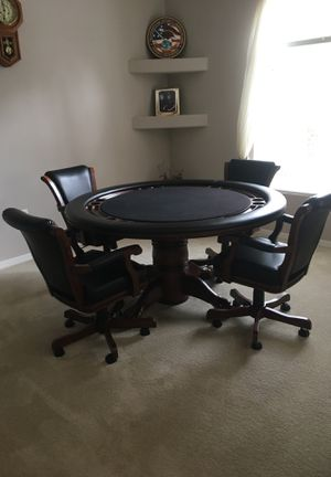 American Heritage poker table for Sale in Brooksville, FL