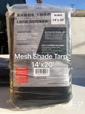 Black Mesh Shade Tarp 14'x20' for Sale in Los Angeles, CA