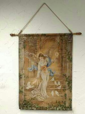 Angel of Light 36x25 tapestry art for Sale in Oklahoma City, OK