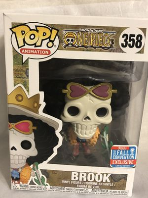 Funko POP! Animation One Piece 2018 NYCC Shared Fall Convention Excl. Brook #358 for Sale in Fontana, CA