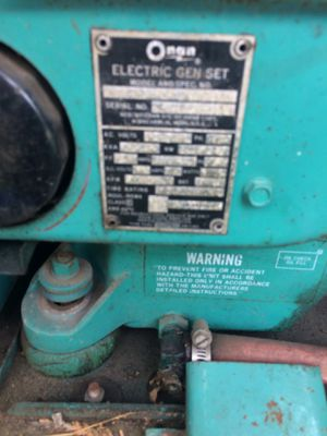onan rv generator for Sale in Portland, OR