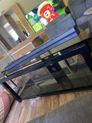 Glass Tv stand for Sale in Woodridge, IL