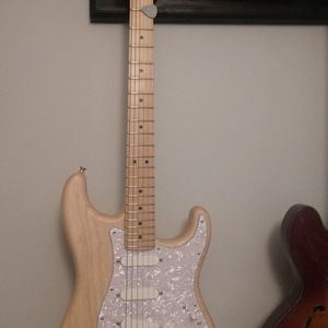 Fender American Limited Edition Natural Raw Ash Performer Stratocaster for Sale in Fort Lauderdale, FL