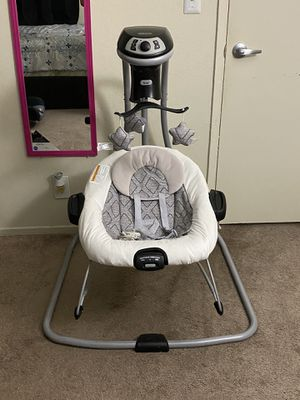 Graco DuetConnect LX Multi-Direction Baby Swing and Bouncer for Sale in San Leandro, CA