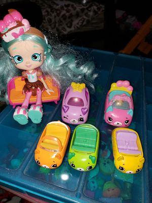 Shopkins cars and doll for Sale in Westminster, CA