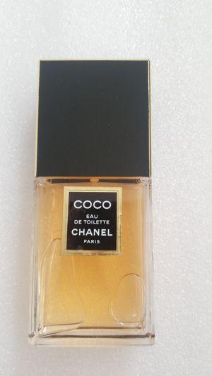 Coco chanell eau toilette 3.4 womens perfume for Sale in Chula Vista, CA
