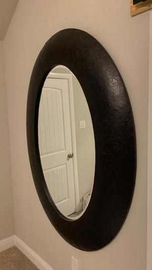 Large oval mirror for Sale in Little Elm, TX