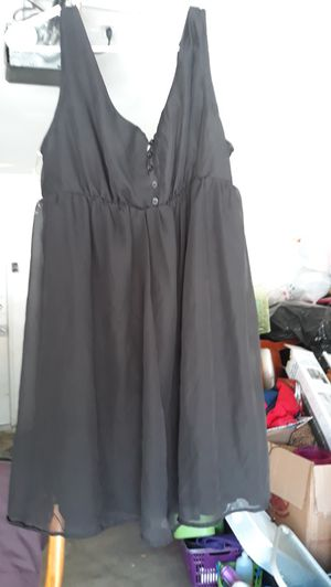 Black Dress size L for Sale in Moreno Valley, CA