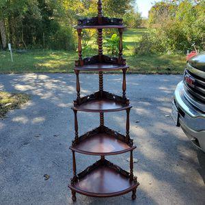 Mahogany Corner Stand for Sale in Cumberland, VA