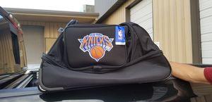 "New York Knicks 27"" Wheeled Duffle Roller Bag MSRP $127.99 for Sale in Smyrna, TN"