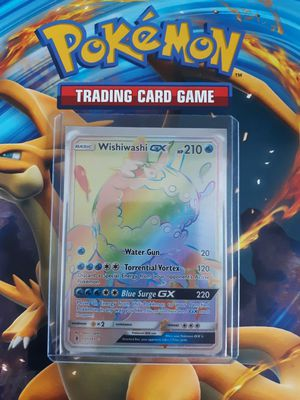 Wishiwashi GX pokemon card hyper rare for Sale in Thornton, CO
