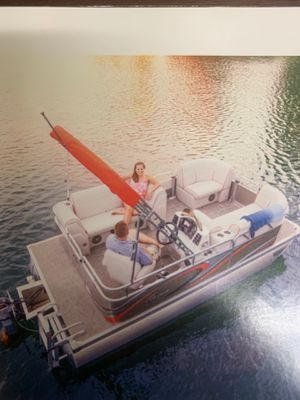 Wanted:13 to 16 foot electric driven pontoon boat ready to hit the lake!! for Sale in Phoenix, AZ