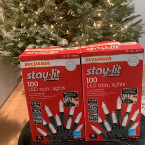 2 Pack Of LED Mini Lights Christmas for Sale in Brooklyn, NY