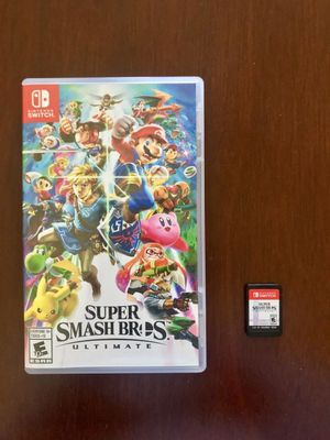 Super Smash Bros Ultimate - Nintendo Switch for Sale in Jersey City, NJ