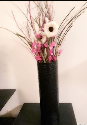 2 Tall Vases with Flowers for Sale in Layton, UT
