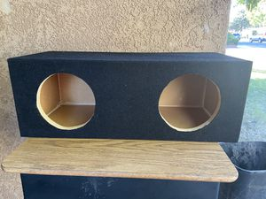 Mdf speaker box for Sale in Modesto, CA