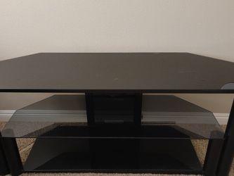 TV Stand Glass 60-42 Inch for Sale in Riverside,  CA