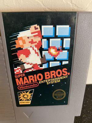 Original Nintendo Entertainment System NES 5 Screw Super Mario Bros Cart for Sale in Surprise, AZ