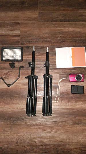 Camera Equipment $60 ALL for Sale in Ellensburg, WA