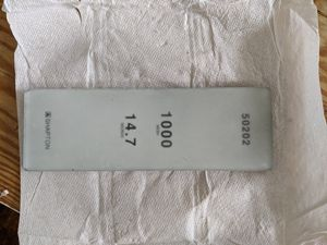 shapton glass stone 1000 grit for Sale in Syracuse, NY