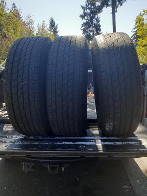 255 70 r 17 open country tires x 3 for Sale in Federal Way, WA