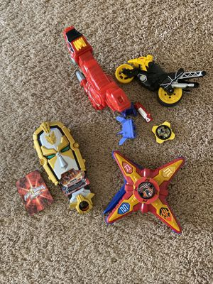 Power Ranger Toys for Sale in Lincoln, CA