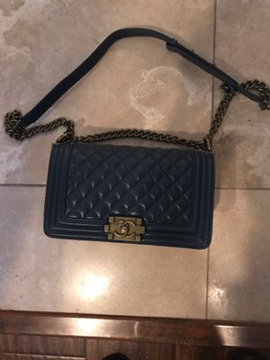 Chanel boy bag navy blue for Sale in El Cajon, CA