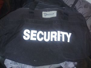 Security bag duffle for Sale in Long Beach, CA