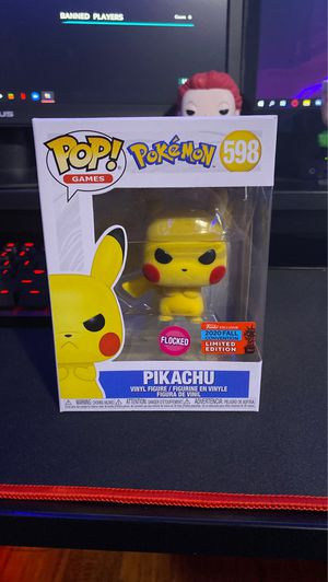 Pikachu NYCC exclusive *flocked* for Sale in Ontario, CA