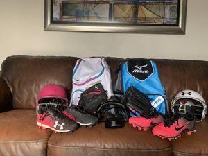 Baseball/ Softball Equipment For Girls for Sale in Taylor, MI