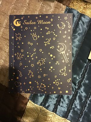 Sailor Moon small drawing book for Sale in Phoenix, AZ