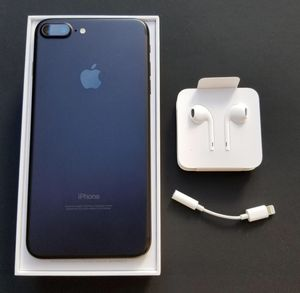 iPhone 7 Plus 32 gb black for Sale in Peabody, MA
