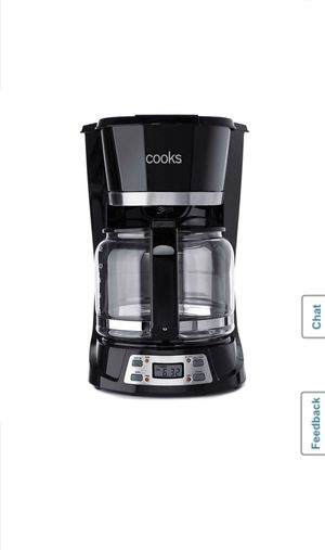 Cooks 12 Cup Coffee Maker Auto Shutoff Black for Sale in Fontana, CA