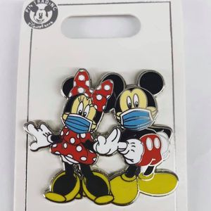 Disney Mickey And Minnie Mouse With Mask Pins for Sale in La Puente, CA