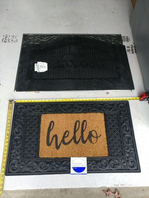 """Welcome door mat """"HELLO"""" for Sale in Owings Mills, MD"""