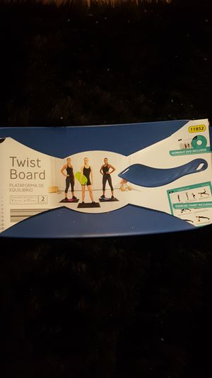 NWT AND DVD TWIST BOARD for Sale in Chicago Heights, IL