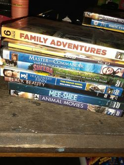 Lot of Family Movies with multiple movies on each disc for Sale in Orlando, FL