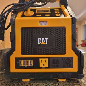 CAT JUMP STARTER AND AIR COMPRESSOR for Sale in Mountlake Terrace, WA