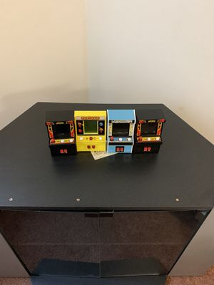 PAC -MAN,2 JOUST, Fix It Felix Mini Arcade games for Sale in Concord, NC