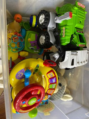 Box of kids toys for Sale in Highland, CA