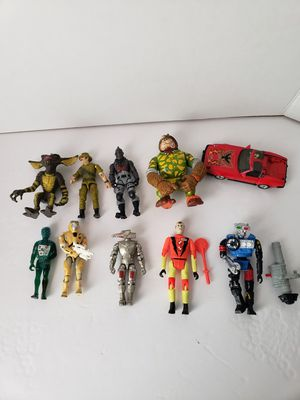 Vintage action figure toy lot for Sale in Peoria, AZ