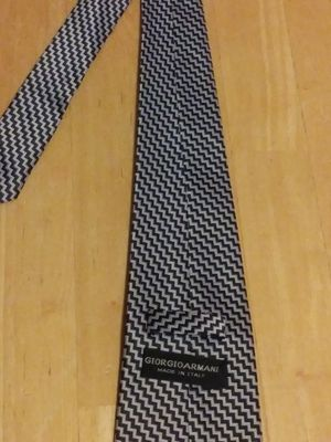 Georgio Armani Silk Tie - Made by hand in Italy for Sale in Fort Worth, TX
