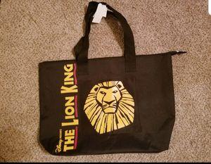 Lion King Broadway Souvenir Bag for Sale in Mancelona, MI