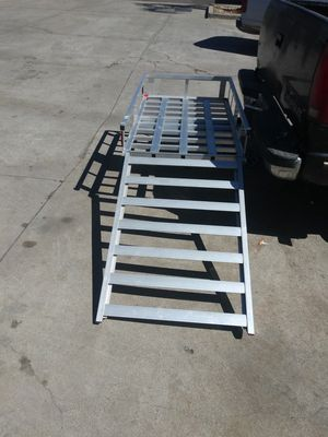 New Aluminum Electric wheelchair carrier with sidewalk ramp for Sale in Lodi, CA
