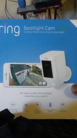 Ring Spotlight cam for Sale in Oceanside, CA